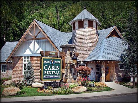 Parkside Cabin Rental Office In Gatlinburg My Favorite