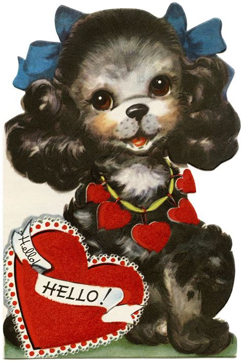 Maybe you would like to learn more about one of these? http://olddesignshop.com/wp-content/uploads/2017/02/OldDesignShop_Vintage-Valentine-Puppy.jpg ...