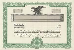blank share certificate template free iehaus With blank share certificate template free