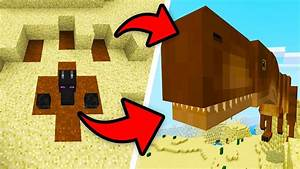 How To Spawn A MEGA T REX In Minecraft Pocket Edition