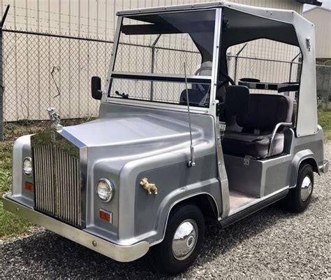 Rolls Royce Golf Cart by Golf Cart Club Car Gray Silver Rolls Royce For Sale In New
