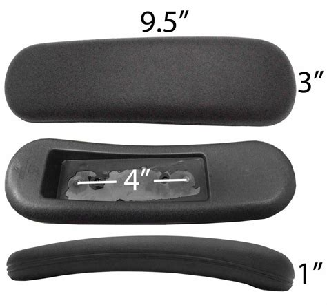 replacement arm rest arm pads for staples office task