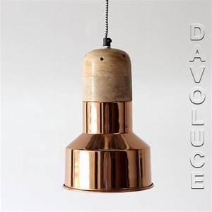 Solid copper timber pendant lights australia davoluce for Copper floor lamp sydney
