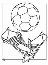 Soccer Coloring Pages Ball Player Printable Boys Print Cleats Players Recommended Templates Template sketch template