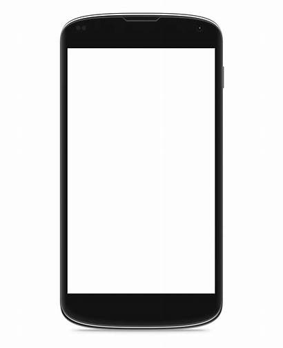 Blank Phone Template Android Cell Mobile Vippng