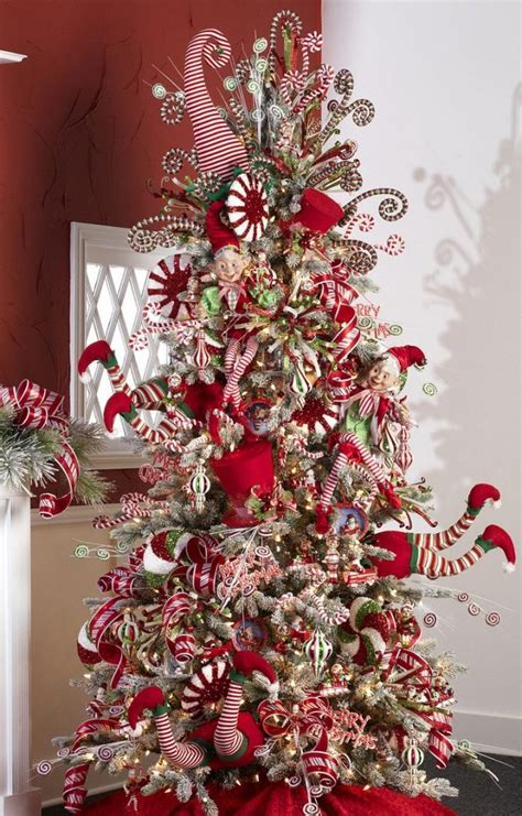 red christmas tree decorations ideas christmas