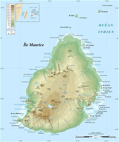 Ou Se Trouve L Ile Maurice Sur La Carte Du Monde by Ile Maurice Carte Du Monde Voyages Cartes