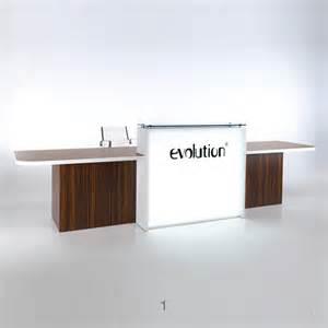 Evolution Light Reception Desks - Hunts Office Furniture ...