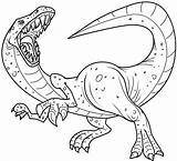 Coloring Pages Dinosaur Dinosaurs Printable Printables sketch template
