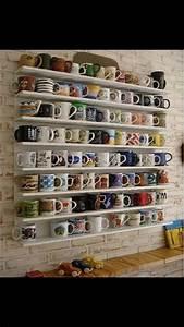 Mug, Collection, Display, Idea