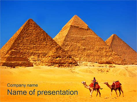 Egypt Templates Powerpoint by Egypt Pyramids Powerpoint Template Backgrounds Id