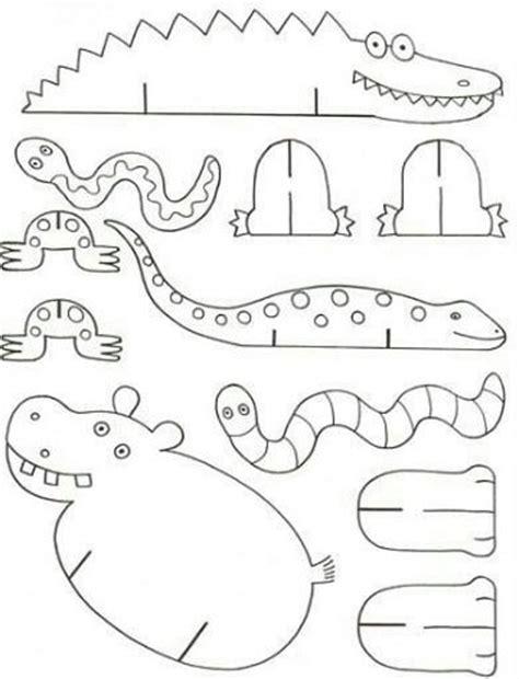 dibujos de animales de la selva para imprimir y colorear