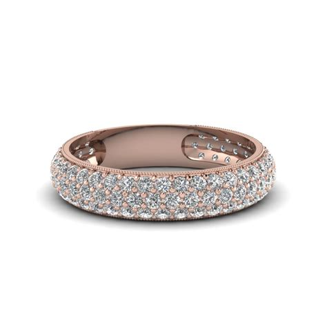 Micropave Diamond Wedding Band For Women In 14k Rose Gold. Coral Earrings. Textile Necklace. Pretty Anklets. Customised Bracelet. Boat Bracelet. Baguette Engagement Rings. Rainbow Stud Earrings. Cremation Jewelry Pendant