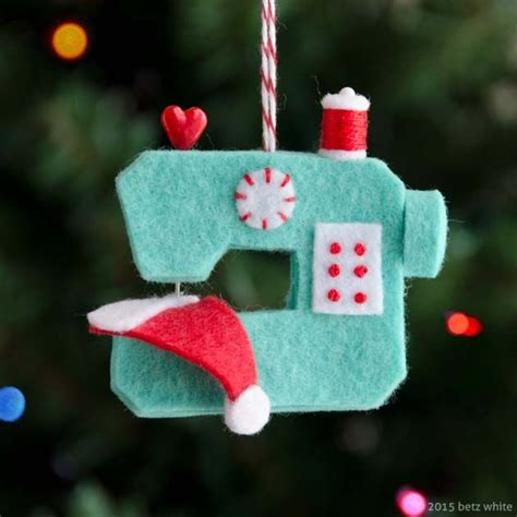 christmas decorations sewing ideas  pinterest