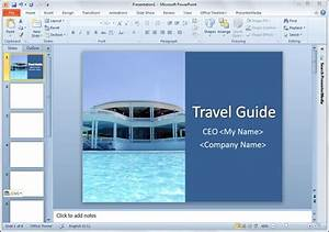 Presentation Title In Powerpoint