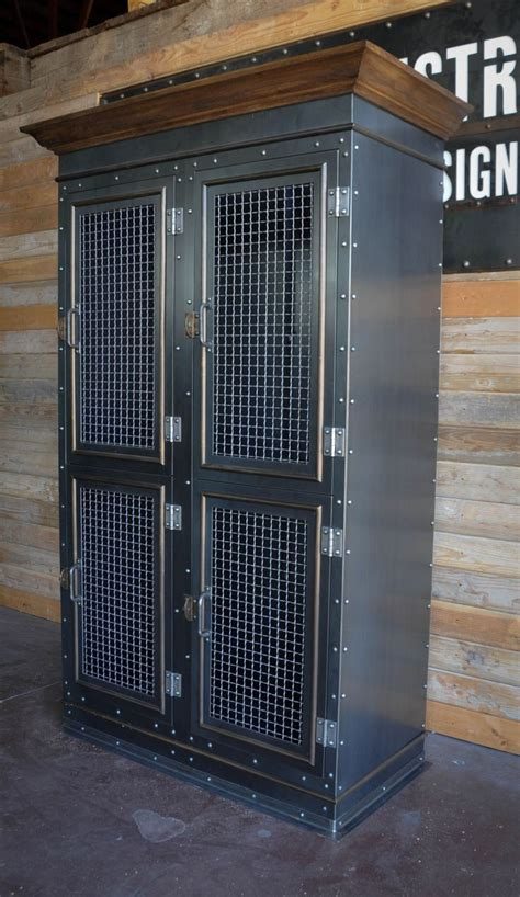 upcycled lockers images  pinterest metal