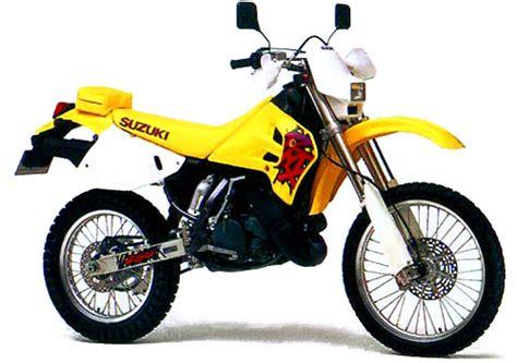 Suzuki Rmx 250 by Suzuki Rm250 And Rmx250 Model History