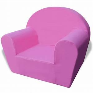 Fauteuil Enfant Pas Cher : acheter vidaxl fauteuil pour enfants rose pas cher ~ Teatrodelosmanantiales.com Idées de Décoration