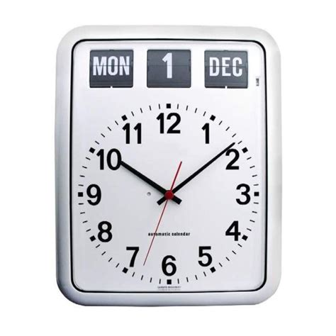 day date clock alzheimers easy read wall clock alzstore