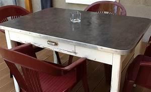 Table Beton Bois : transformer une table en bois en beton cire table de lit ~ Premium-room.com Idées de Décoration