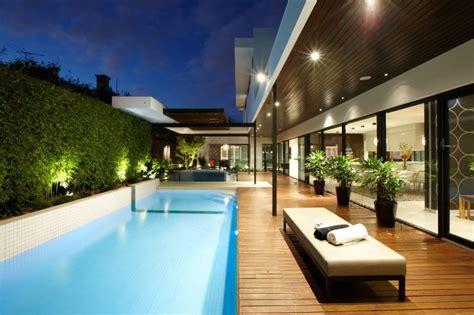 Indoor outdoor house design with alfresco terrace living