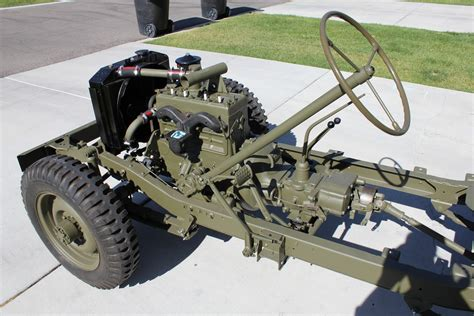 1943 Willys Mb Jeep Restoration Project Engine Installed