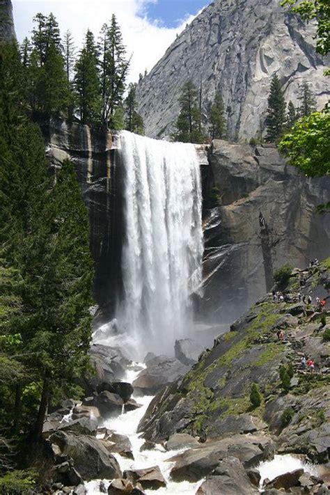 Yosemite Valley Vernal Falls Pinterest