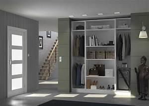 Porte Dressing Sur Mesure : placard dressing le rangement chic pratique centimetre ~ Premium-room.com Idées de Décoration