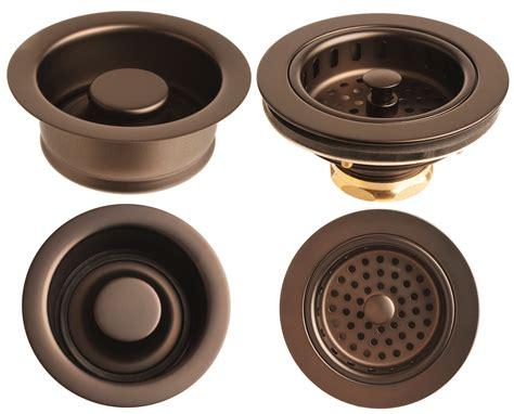 Kohler Sink Strainer For Garbage Disposal by Rubbed Bronze Sink Garbage Disposer Flange And Basket