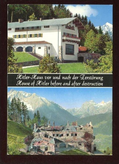 102707 Berchtesgaden, Obersalzberg  Hitlerhaus Vor Und
