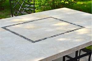 Table Mosaique Jardin : table mosaique marbre table mosaique marbre sur enperdresonlapin ~ Teatrodelosmanantiales.com Idées de Décoration