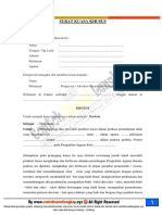 format contoh surat gugatan cerai isteri  mengajukan