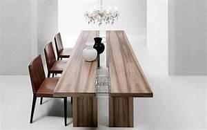 table bois massif accueil design et mobilier With table salle à manger bois massif