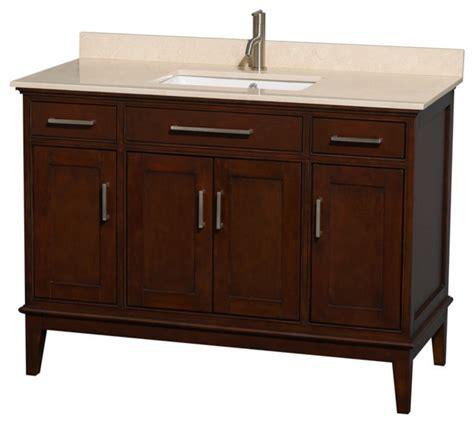 single bathroom vanity ivory marble countertop