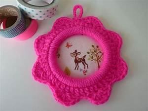 Crochet Pour Tableau : petit tableau au crochet d coration shabby chic vintage ~ Farleysfitness.com Idées de Décoration