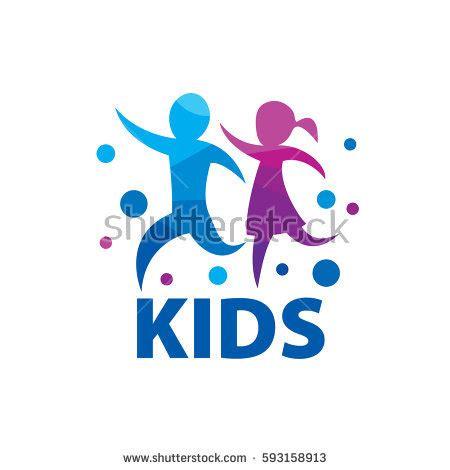 preschool logo stock images royalty free images amp vectors 113 | stock vector vector logo kids 593158913