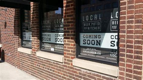 local dedicated bar kitchen and patio coming to