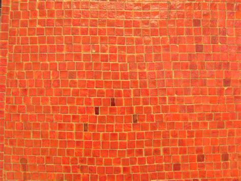 imagen gratis naranja mosaico pared