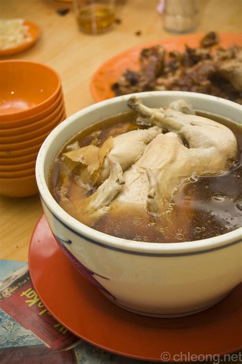 boiling chicken for soup double boiled chicken soup restaurant bukit jugra banti flickr