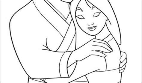 Get This Free Mulan Coloring Pages 2srxq