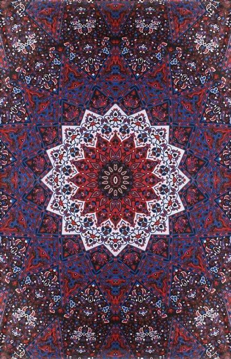 paisley kaleidoscope star mandala hippie boho india