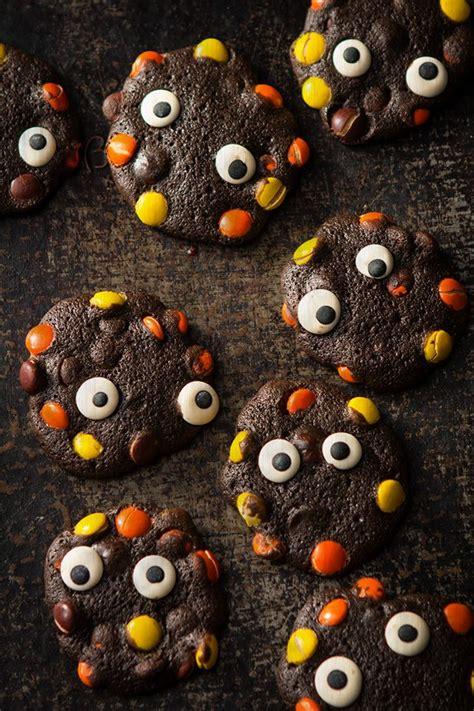easy creepy cookies  amaze  kids  halloween