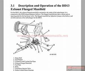 Detroit Dd13  Dd15  Dd16 Exhaust  Egr  Aftertreatment