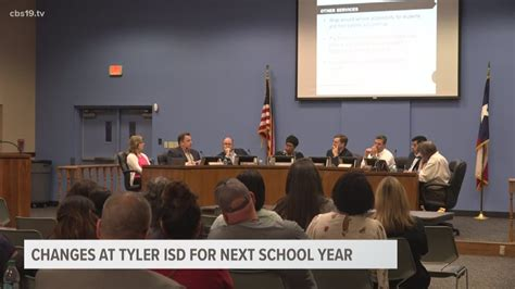 tyler isd school year cbstv