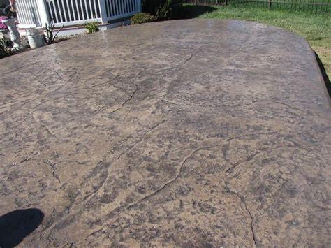 textured concrete patio 17 best images about driveway sidewalks floors on pinterest exposed aggregate concrete patios