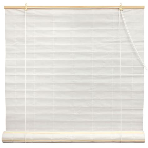 Paper Blinds by Shoji Paper Roll Up Blinds White Ebay