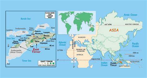 political map  east timor east timor asia mapsland