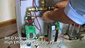 Wilo Stratos High Efficiency Circulator Pump Demo