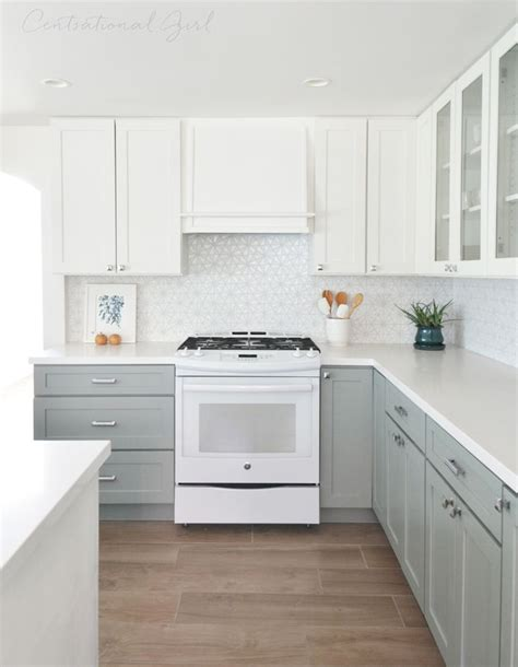 48 upper kitchen cabinets white upper cabinets range wall blue gray lower cabinets