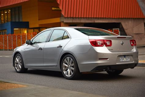 Holden Launches New Malibu Sedan in Australia Priced from ...